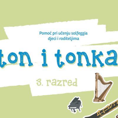 Ton i Tonka 3 - vjezbenica za 3. razred glazbene skole