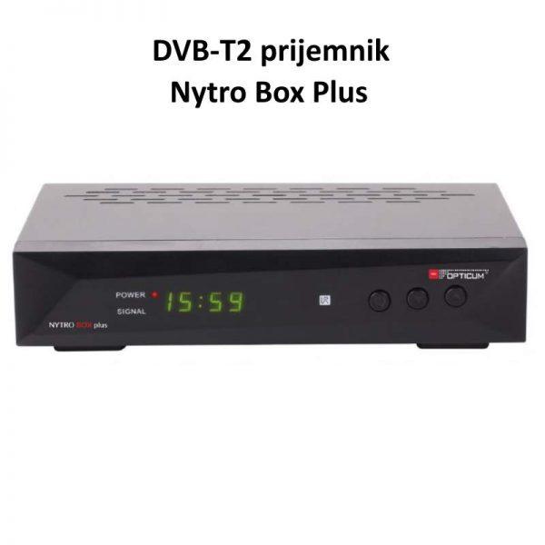 DVB-T2 Receiver Nytro Box Plus