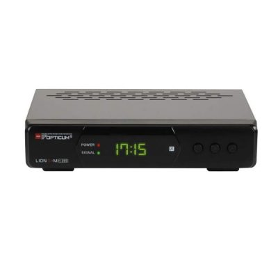 DVBT2 Receiver Opticum Lion 5-M Hybrid