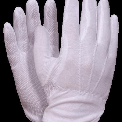 Rukavice pamučne bijele sa protukliznim nanosom