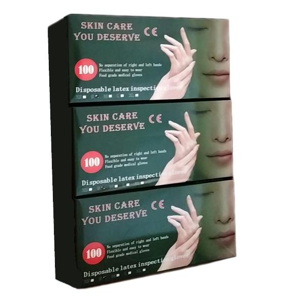 Gumene gumene zaštitne rukavice - lateks - 100/1