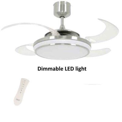 Ventilator stropni FANAWAY EVO1 LED - 211036 - Chrome