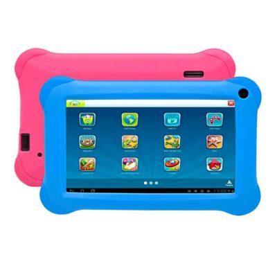 Tablet za djecu DENVER kids Taq-70352k - 2x maske - plava i roza