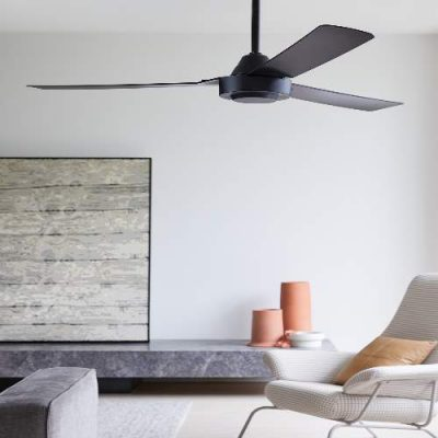 Ventilator stropni BAYSIDE CALIPSO - Black - 213017 -Lifestyle