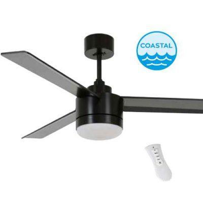 Ventilator stropni BAYSIDE LAGOON sa daljinskim upravljanjem - 213033 - Crni