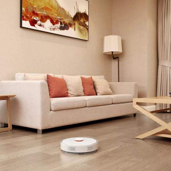 XIAOMI Mi Roborock Pure S6 White - robotski usisavač - lifestyle