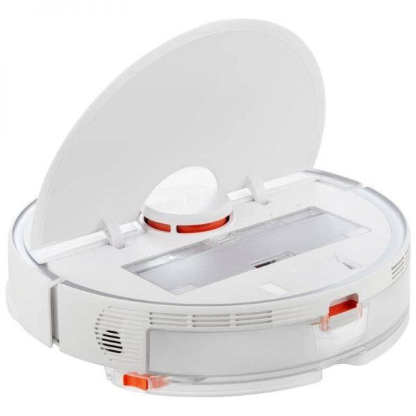 XIAOMI Mi Roborock Pure S6 White - robotski usisavač - prikaz otvorenog poklopca