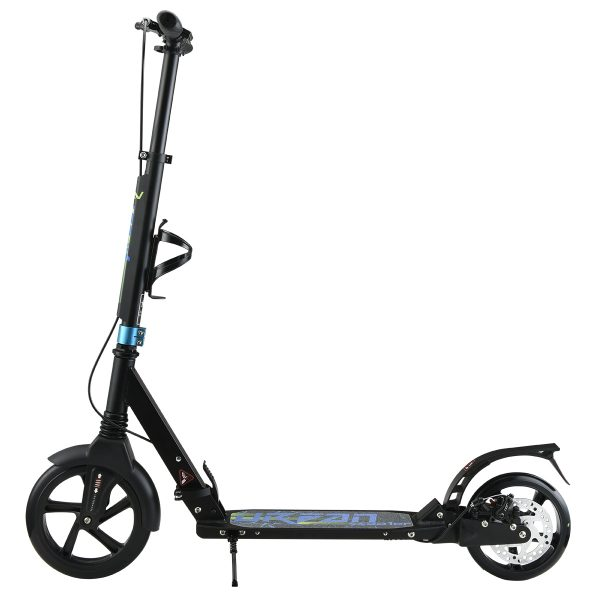 Scooter aluminijski sa disk kočionim sistemom i dvostrukim ovjesom