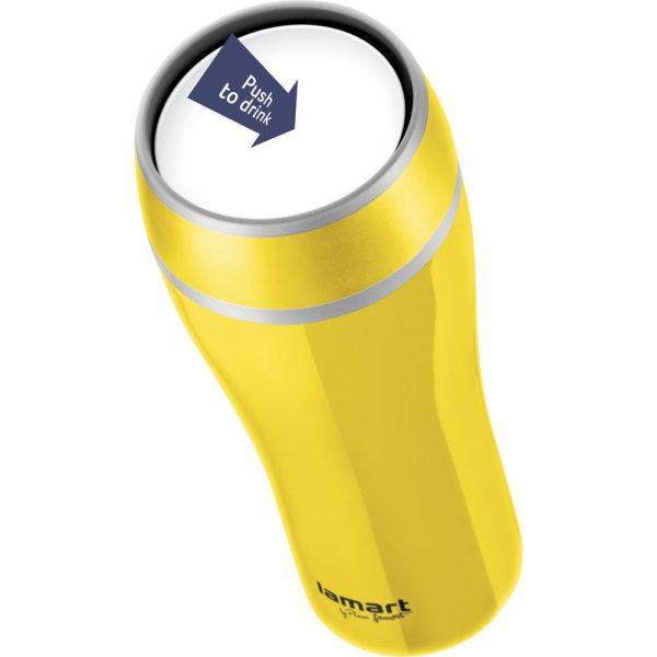 Termos boca 400ml žuta - Lamart - LT4027 - Popust.hr