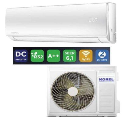 Klima uređaj KOREL Akira 3,4kw WIFI ready