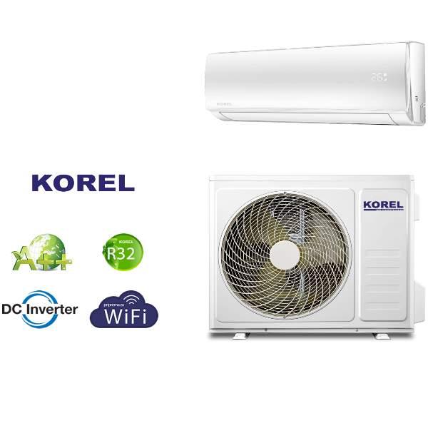 Klima uređaj KOREL URBAN Inverter 3,7kw - WIFI - DC Inverter - R32- A++ - komplet